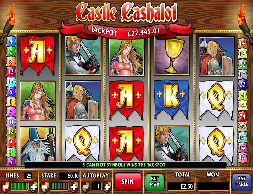 castle cashalot screenshot
