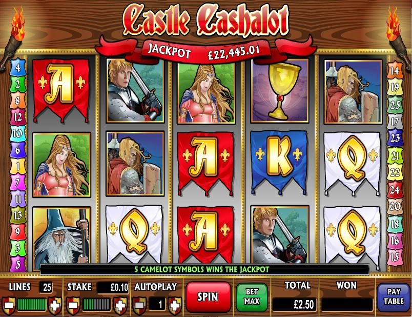 castle cashalot slot