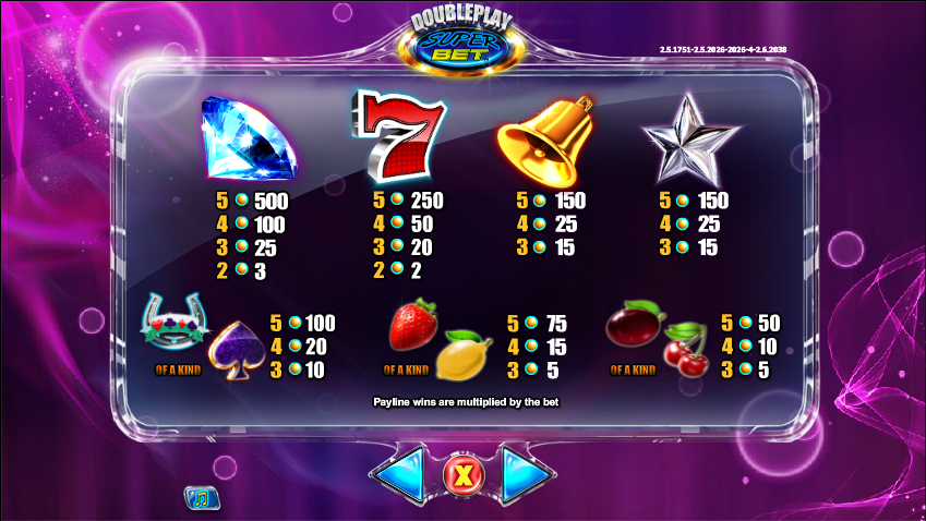 Double Super Bet Slot Game for Real Money - NYX Slots
