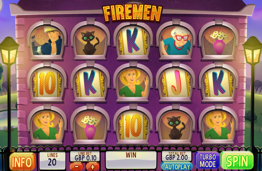 Play Firemen Online Slots at Casino.com New Zealand