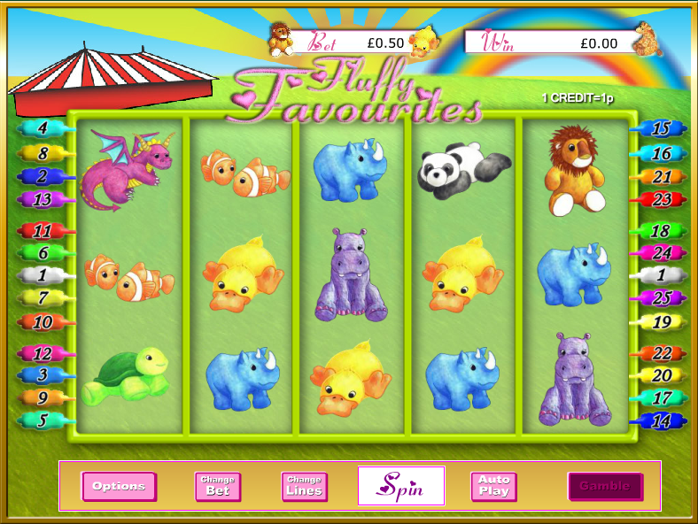 Fluffy Favourites Slot - Play Now with No Downloads