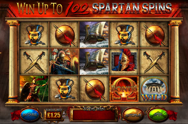 fortunes of sparta screenshot
