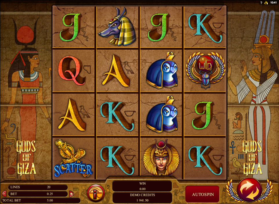 gods of giza slot
