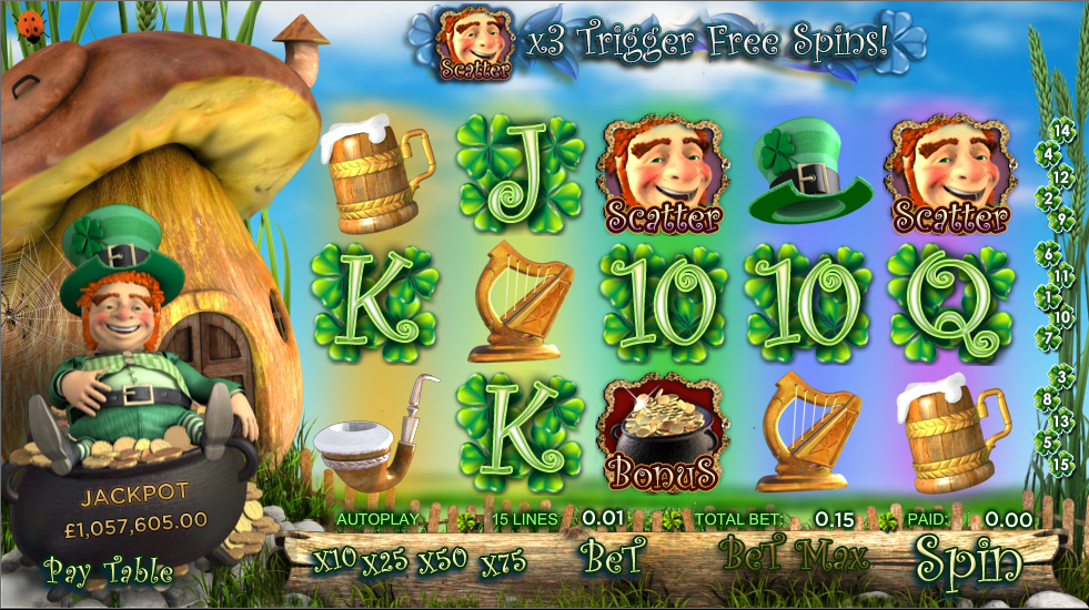 Irish Riches Slots - Read the Review and Play for Free