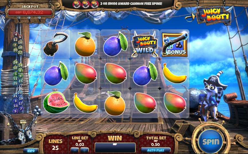 Play Juicy Booty Online Slots at Casino.com New Zealand