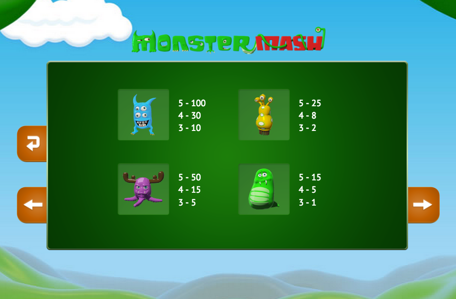 monster mash info