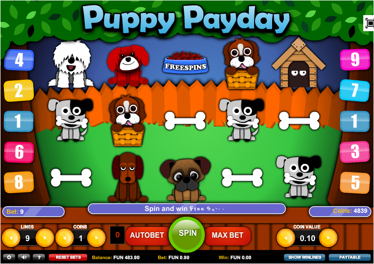 Cash Puppy Online Slot Machine - Play Online for Free Here