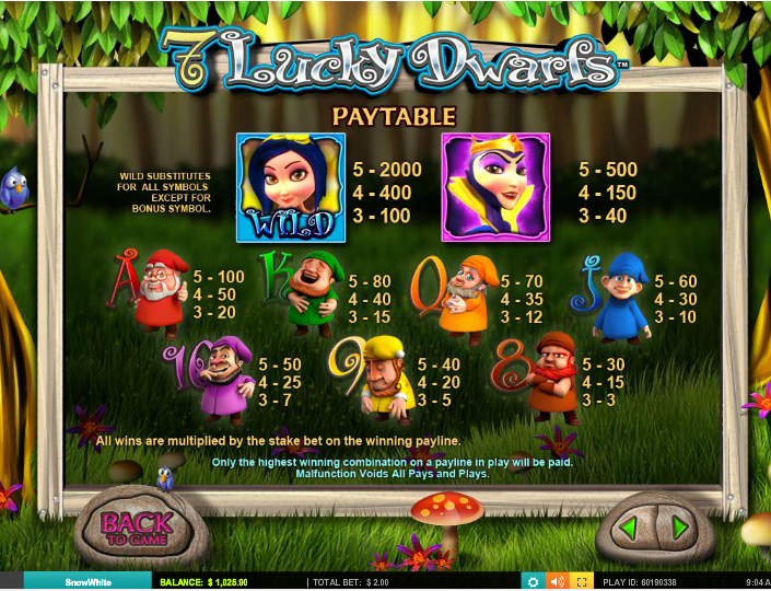 7 Lucky Dwarfs™ Slot Machine Game to Play Free in Leander Gamess Online Casinos