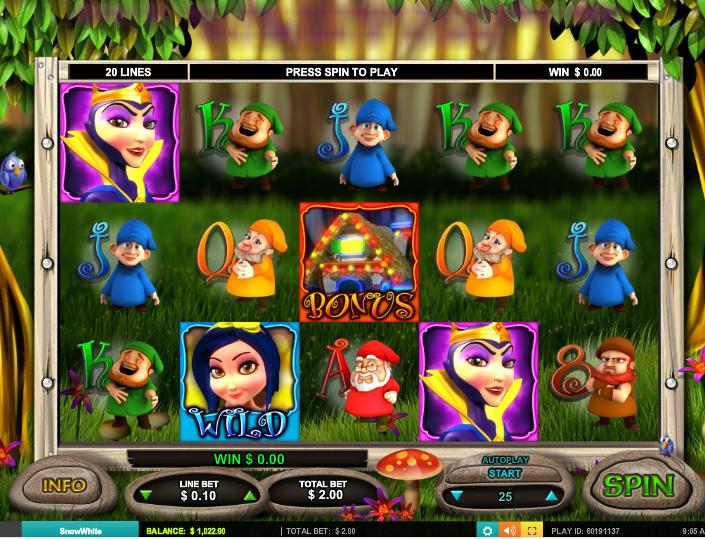 seven lucky dwarfs slot