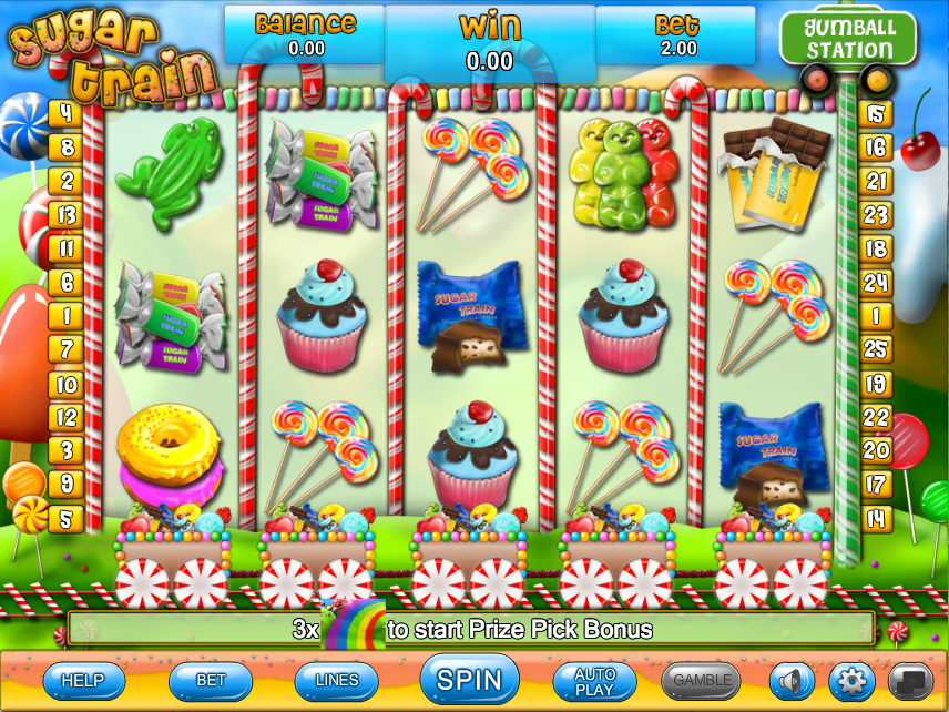 sugar train screenshot