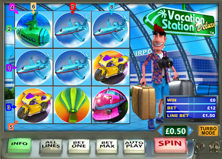 Play Vacation Station Deluxe Online Slot at Casino.com UK