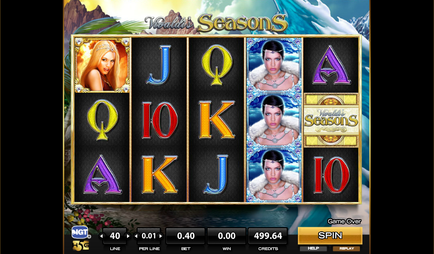 vivaldis seasons slot