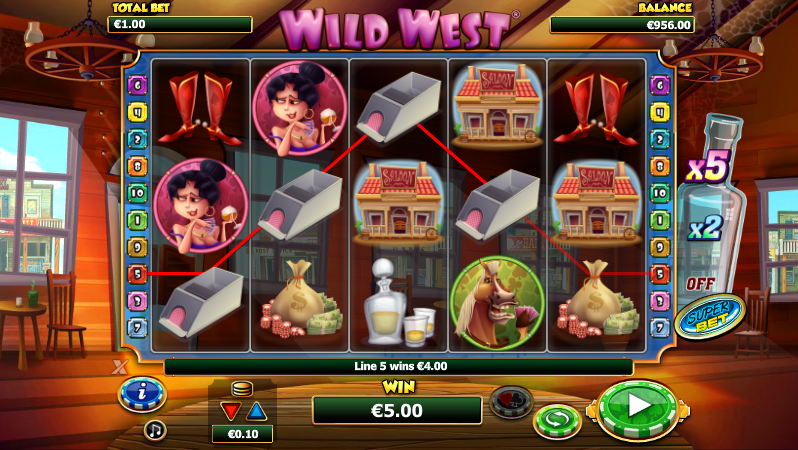 Wild West Slot - Read the Review and Play for Free