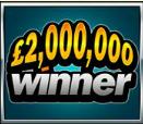 £2m winner logo