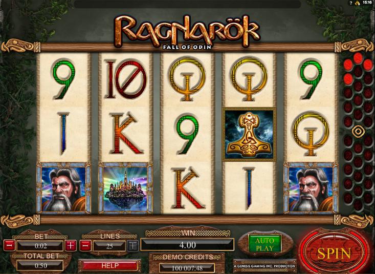 Slot Ragnarok Online