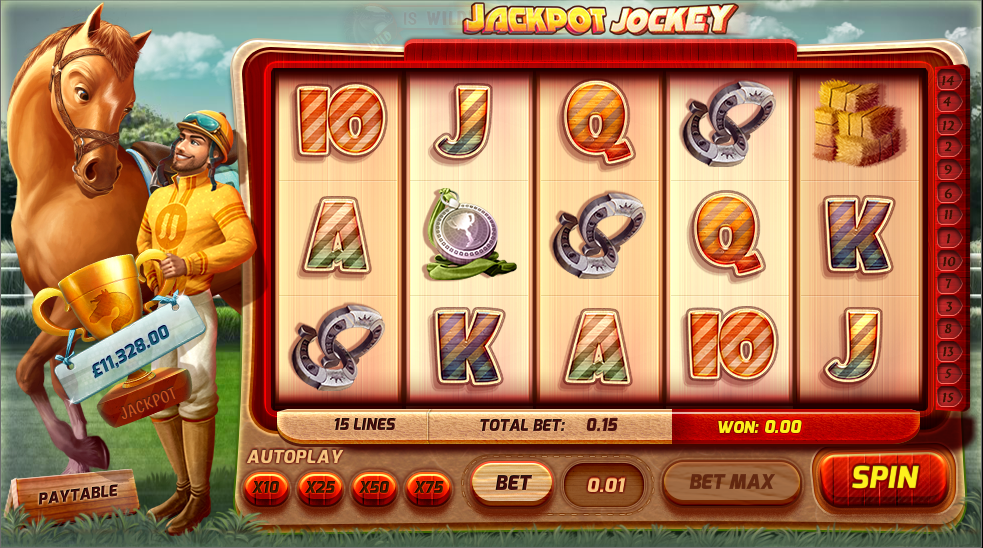 jackpot jockey screenshot