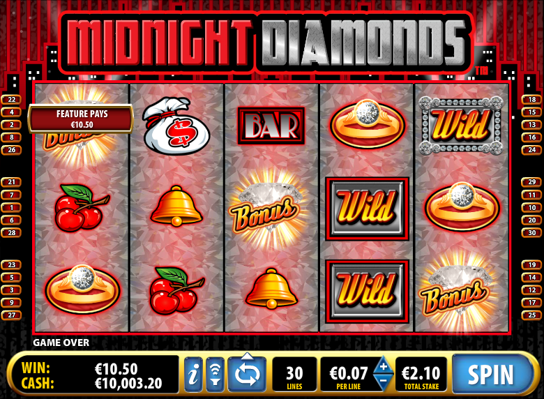 midnight diamonds screenshot