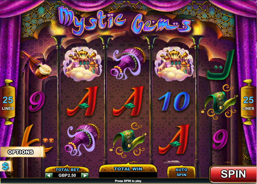 mystic gems screenshot