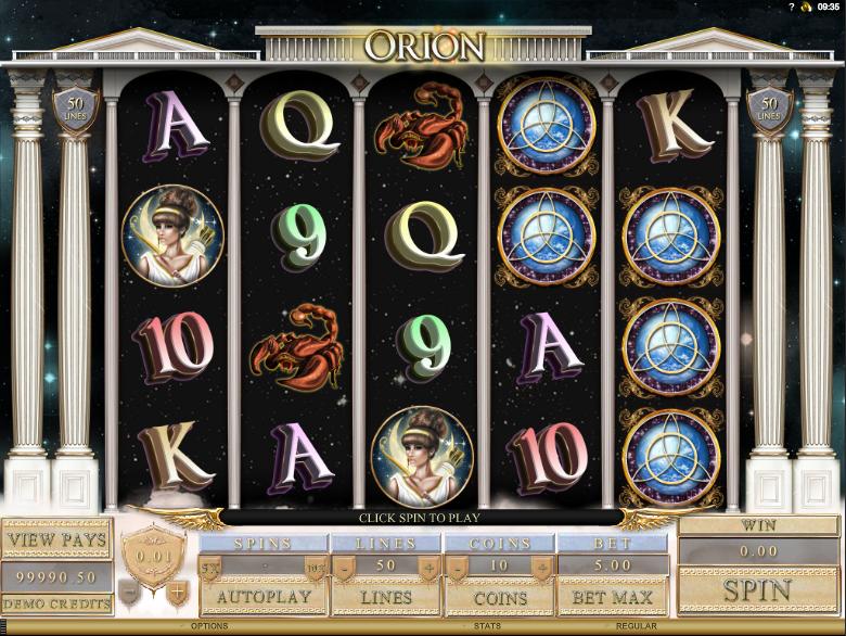 Spiele Orion - Video Slots Online
