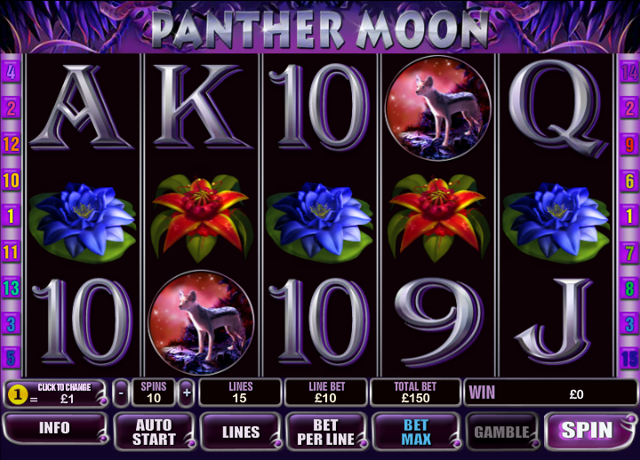 panther moon slot