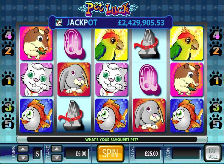 pet luck slot