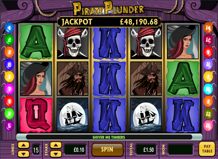 pirate plunder screenshot
