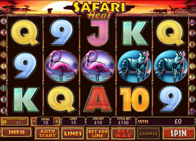 Slot safari heat