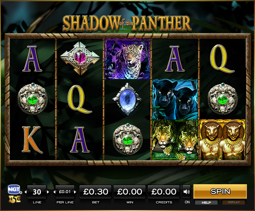 Der Slot Shadow of the Panther – Penny-Slots online