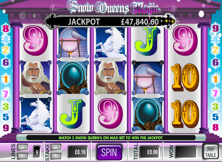 snow queens magic slot