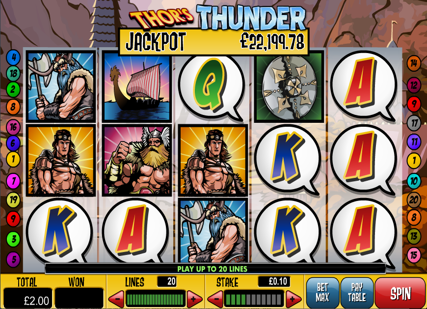 thors thunder screenshot