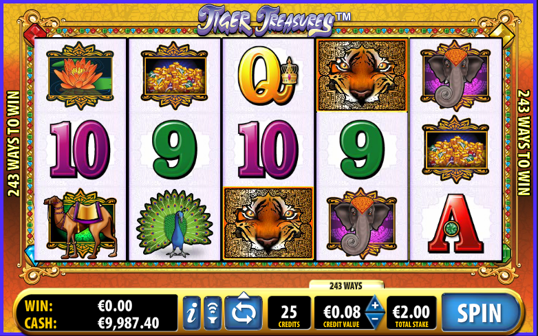 tiger treasures slot
