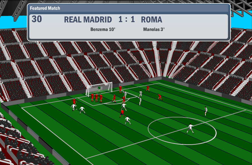 virtual champions league match