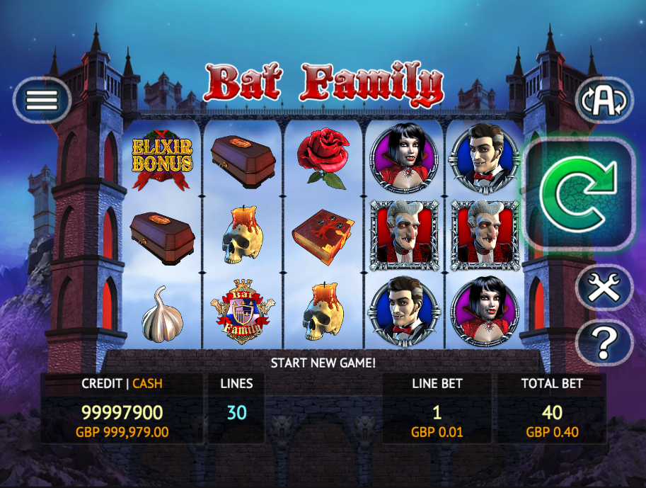 bat family screenshot