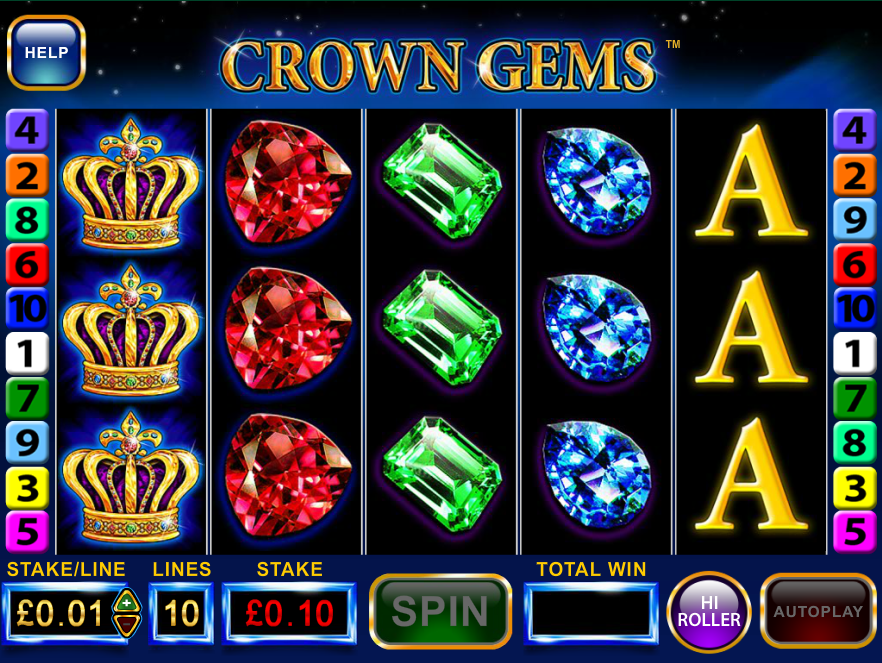 Crown Gems Slots - Play Real Casino Slot Machines Online