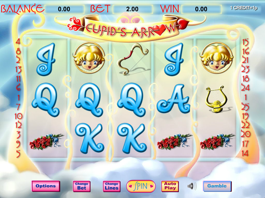 cupids arrow slot