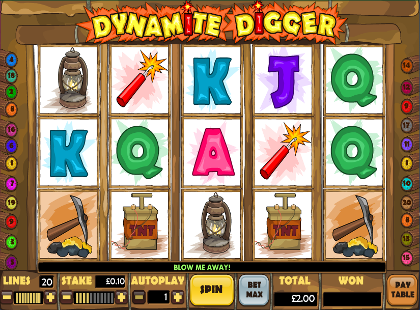 Dynamite Slots - Review & Play this Online Casino Game