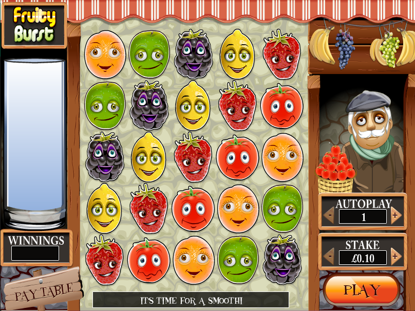 fruity burst screenshot