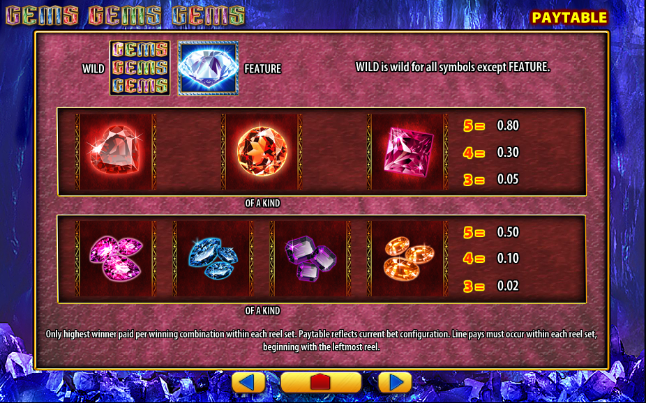 Hot Gems Slot Machine - Play Free Casino Slot Games
