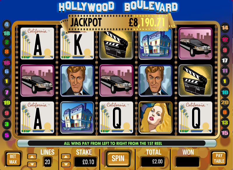 hollywood boulevard screenshot