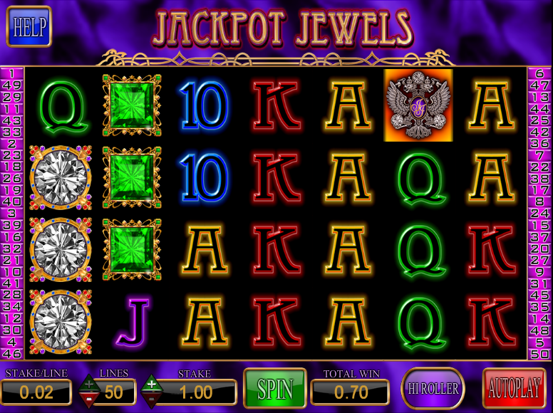 jackpot jewels screenshot