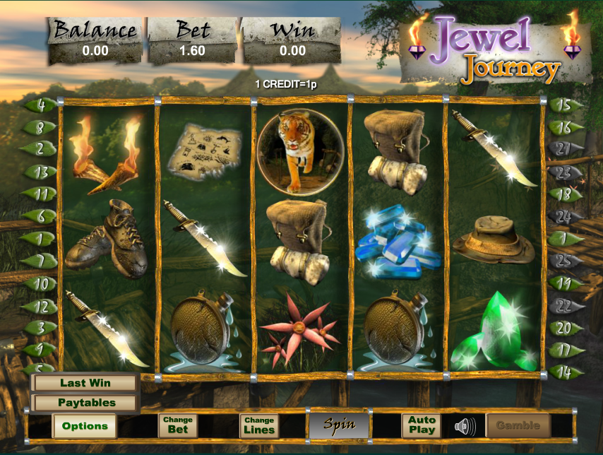 jewel journey slot