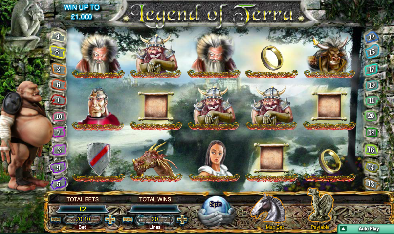legend of terra slot