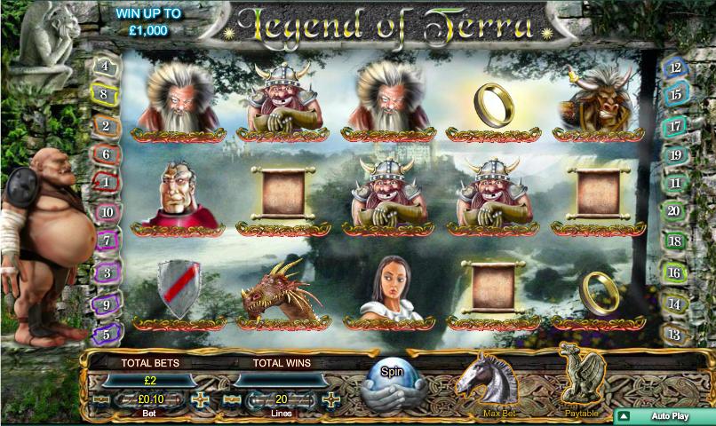 legend of terra slot