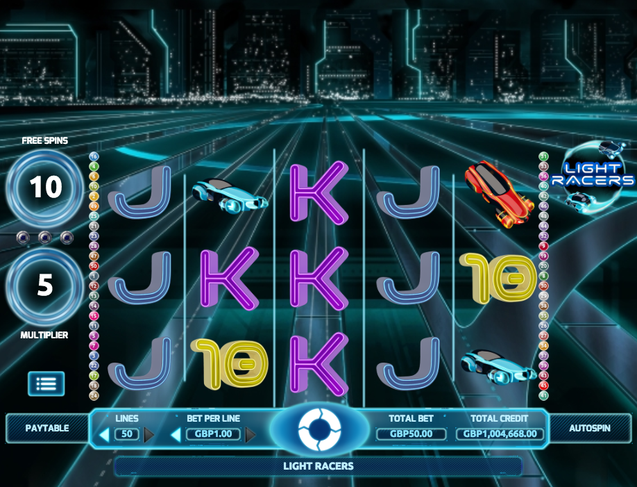 light racers screenshot