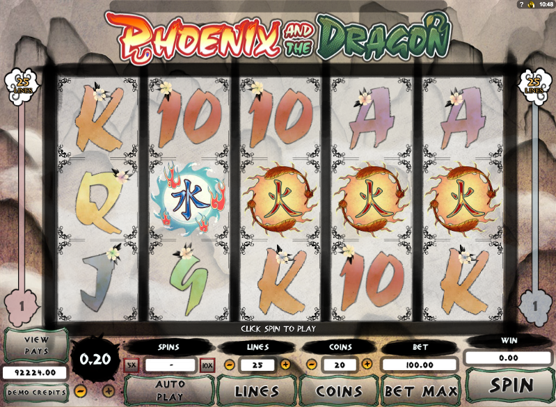 phoenix and the dragon slot