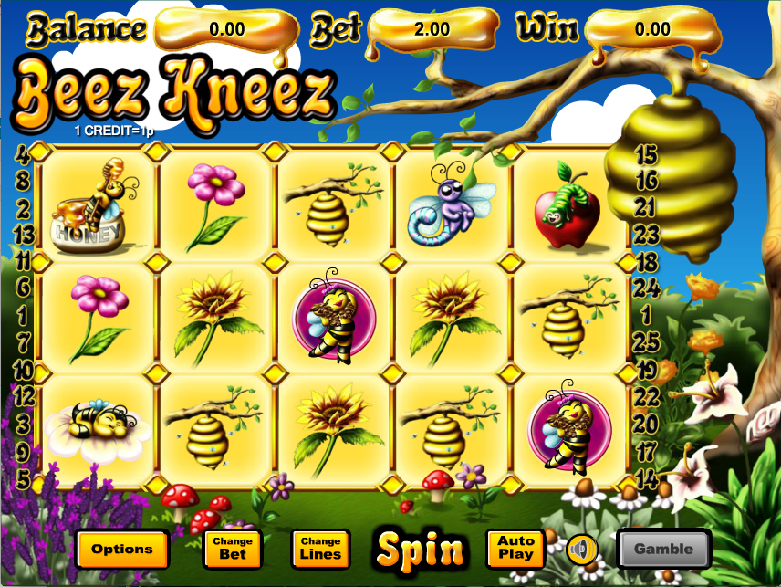 beez kneez screenshot