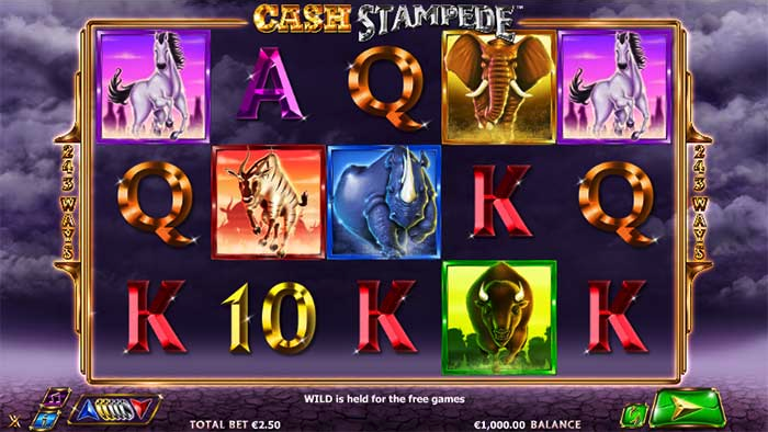cash stampede slot