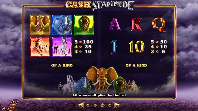 cash stampede information
