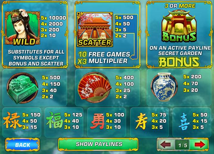 Spiele Fei Cui Gong Zhu - Video Slots Online