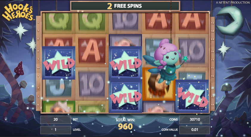 Peter Pan Slot - Review and Free Online Game